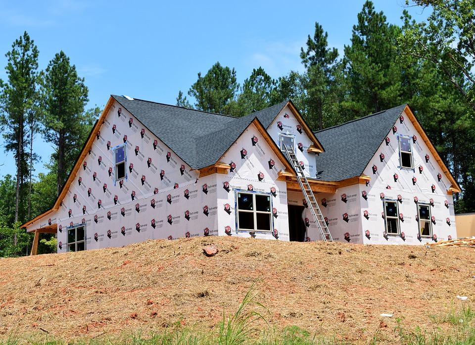 this picture shows roofing as one of the most important subcontractors in the construction industry